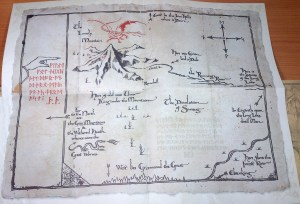 El mapa de Thorin / Thorin´s Map
